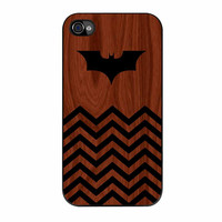 Batman And Black Chevron iPhone 4 Case