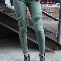 Chicago Moto Jegging