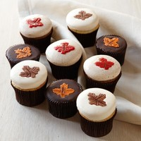 More® Fall Leaves Cupcakes, Set of 9