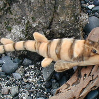 "Bamboo Shark Plush Toy Animal - 13"" Stuffed Bamboo Shark"