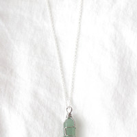 Mimi Gemstone Necklace (multiple colors)