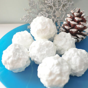 Snowball Soap  Christmas Holiday  Soap by AubreyEApothecary