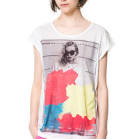 GIRL PRINTED T-SHIRT - Woman - New this week - ZARA United States