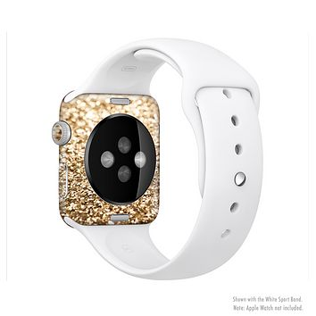 The Gold Glimmer V2 Full-Body Skin Kit for the Apple Watch