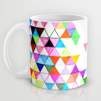 Falling Into Place Mug by Fimbis