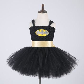 Batman Cosplay Costume Girls's Dresses