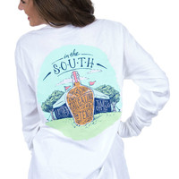 Lauren James Tailgating in Tents Tee in White