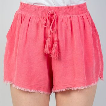 Watermelon Drawstring Shorts