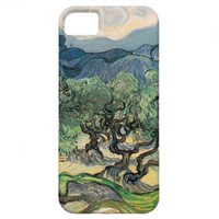 The Olive Trees, Vincent van Gogh iPhone 5 Case from Zazzle.com