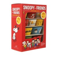 CHRONICLE BOOKS Snoopy and friends cupcake kit