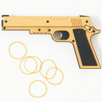 Blowback-Style Rubber Band Gun (R-1)