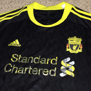 Sale!! Vintage Adidas LIVERPOOL FC Soccer Jersey LFC Football Shirt