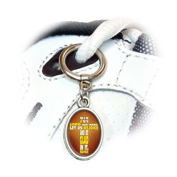 Bible Verse Cross Psalm - This is day that the Lord Shoe Charm