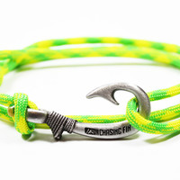 Dayglow Fish Hook Bracelet (New)