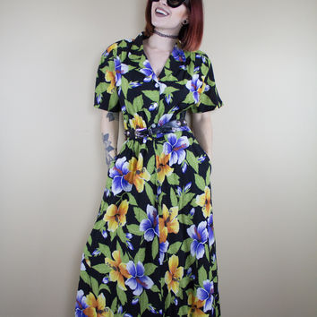 Hawaiian Honey Vintage Dress