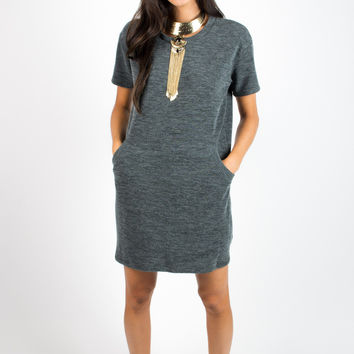 Cozy Nights Pocket Dress