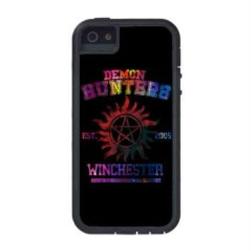 supernatural demon hunters galaxy for iphone 5s case