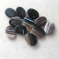 Agate Gemstone Pendants, Jewelry Making Beads,  Oval Pendants, Agate Pendants, Craft Supplies, Bead Supply, Jewelry Design Pendant Beads