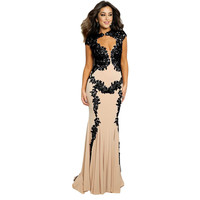 Jovani Cap Sleeves Prom Formal Dress