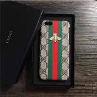 ''GUCCI'' Embroidery Hard shell iphone 6s protective phone case G
