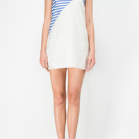 Stripes Print Shift Dress