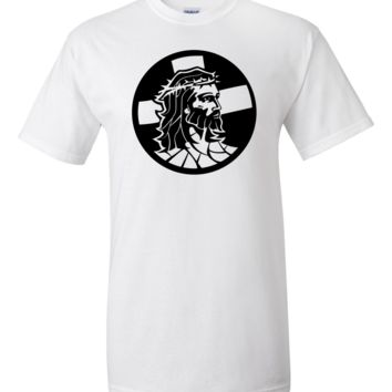Jesus in a Crown of Thorns T-Shirt