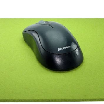 Rectangle Mouse Pads in 5mm Thick Virgin Merino Wool Felt