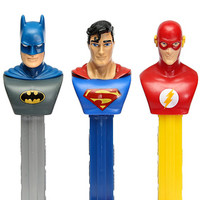DC Comics PEZ Candy Packs: 12-Piece Display