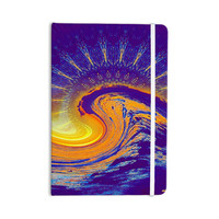 "Infinite Spray Art ""Devreux"" Purple Nautical Everything Notebook"