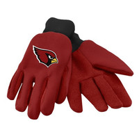 Arizona Cardinals Official NFL Utility Gloves - Colored Palm
