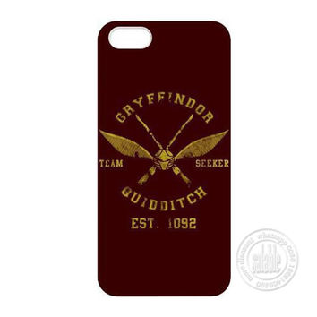 Retro Classic Harry Potter Gryffindor Quidditch Phone Case for iPhone 7 6 6S Plus 4 4S 5C 5 SE 5S Cover