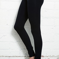 Contrast Waist Yoga Leggings