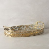 Lingering Plumes Tray by Anthropologie Sky One Size Decor