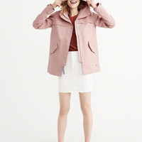 Womens Classic Raincoat | Womens Outerwear & Jackets | Abercrombie.com