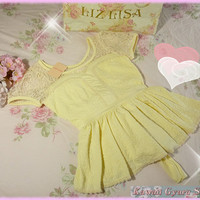 Liz Lisa Lace Panel Crinkle Tunic Top (NwT) from Kawaii Gyaru Shop