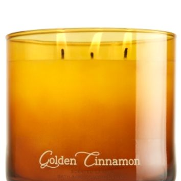 3-Wick Candle Golden Cinnamon