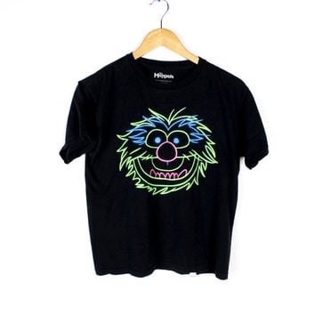 neon animal muppets shirt