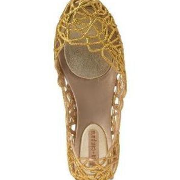 Melissa Campana III Gold  - Jildor Shoes, Since 1949