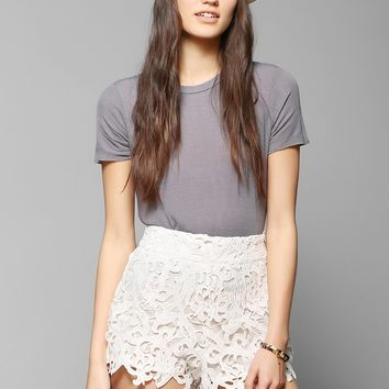 Pins And Needles Cutout Lace Pinup Short - Urban Outfitters