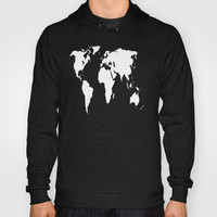 World Outline  Hoody by Elyse Notarianni