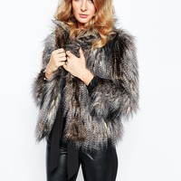 Millie Mackintosh Faux Fur Jacket