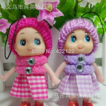 Gift Baby plush doll suffed toy min bag cell phone  for kids dolls stuffed toys cartoon animal doll 1pcs/lots PT28