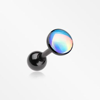Colorline Iridescent Revo Sparkle Cartilage Tragus Barbell