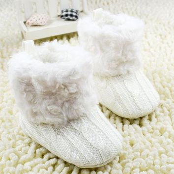 fashion   Crib Shoes Toddler Boots children baby WalkerBoots Softnewborn girls  footwear shoes for kids