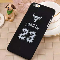 "Chicago Bulls No.23 Jordan Basketball PC Cover Case For Apple iPhone 6 4.7"" 6 plus 5.5"" Jumpman Sports Brand Logo Phone Cases"