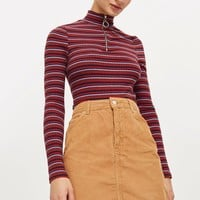 TALL Cord High Waisted Skirt | Topshop