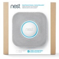 Nest Protect WiFi Connected Smoke Detector (Battery Powered, White)