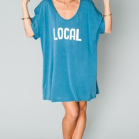 Benji Tunic Tee ~ Local Graphic