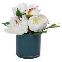 8 X 8 X 8 Inch White Artificial Arrangement