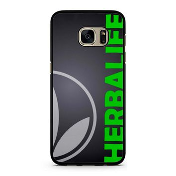 Black Herbalife Samsung Galaxy S7 Case